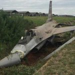 RT @Tom_Antonov: A Thai Air Force F-16 skidded off a taxiway and crashed into a drainage ditch at Korat Air Base Pilot ejected