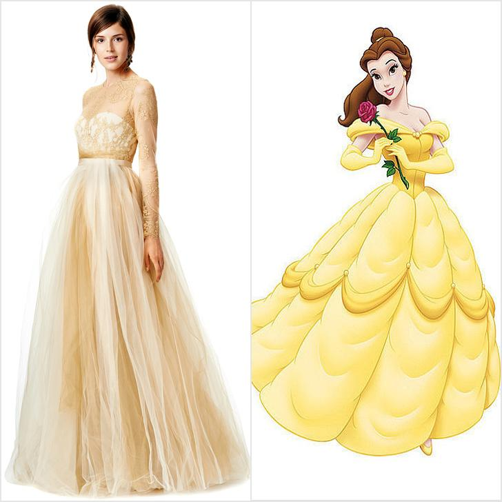 11 wedding dresses inspired by your favorite #disney princesses ...