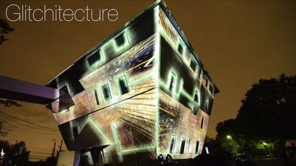 BRDG – 「Glitchitecture」by vokoi ProjectedScape, Tokyo, October 2012 (1:22) http://t.co/jmRxC3KgaP http://t.co/XOAQSEwHz9
