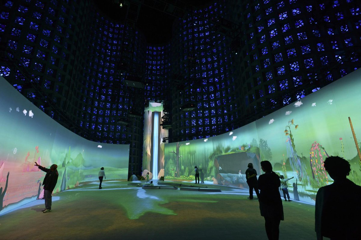 Connected Worlds - Interactive ecosystem for @nysci by @design_io http://t.co/52QKSUTR0W | http://t.co/EHGfnQg0ss
