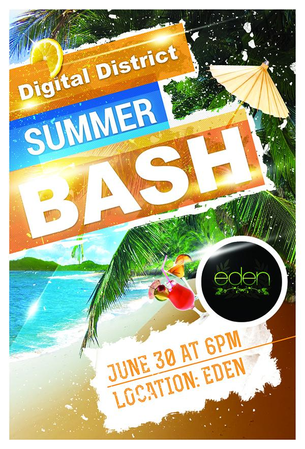 A week away from the @DigitalDistrict Summer bash! Networking, hiring managers, and