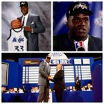 RT @NBAonTNT: 23 years ago tonight, @Shaq was drafted No. 1 overall by the @OrlandoMagic. http://t.co/0wDkFmkBqI