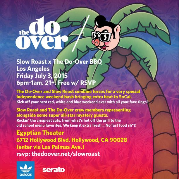 LA & SD! We're coming to you with our @Do_Over collab BBQ Blowouts!