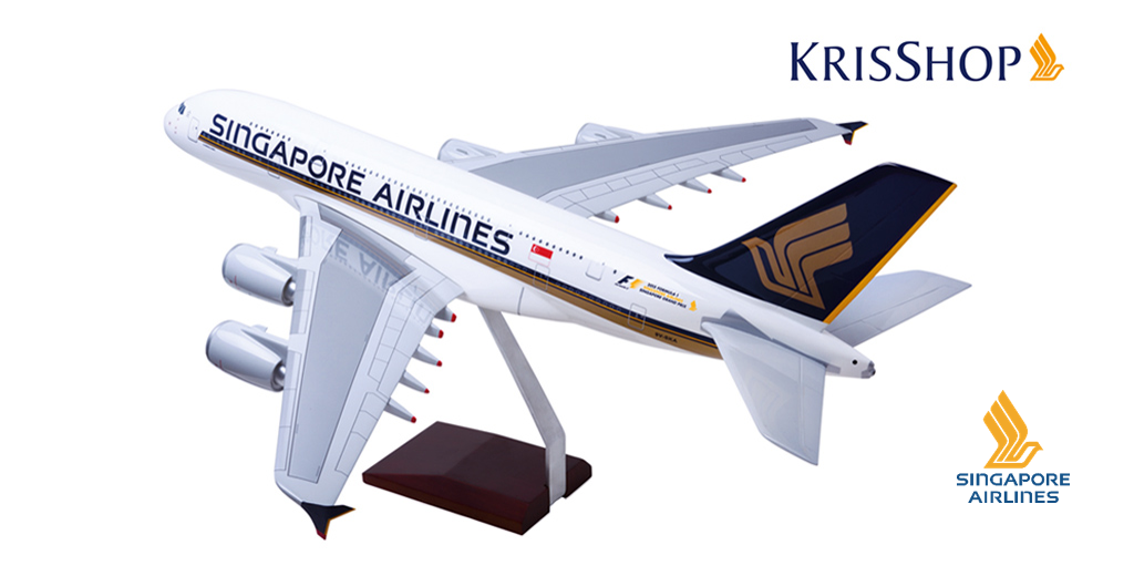 Preorder our 2015 FORMULA1 SINGAPORE AIRLINES SINGAPOREGP A380 aircraft model today: