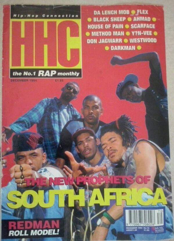 Before a group claims to be the first on a UK Hip Hop magazine
