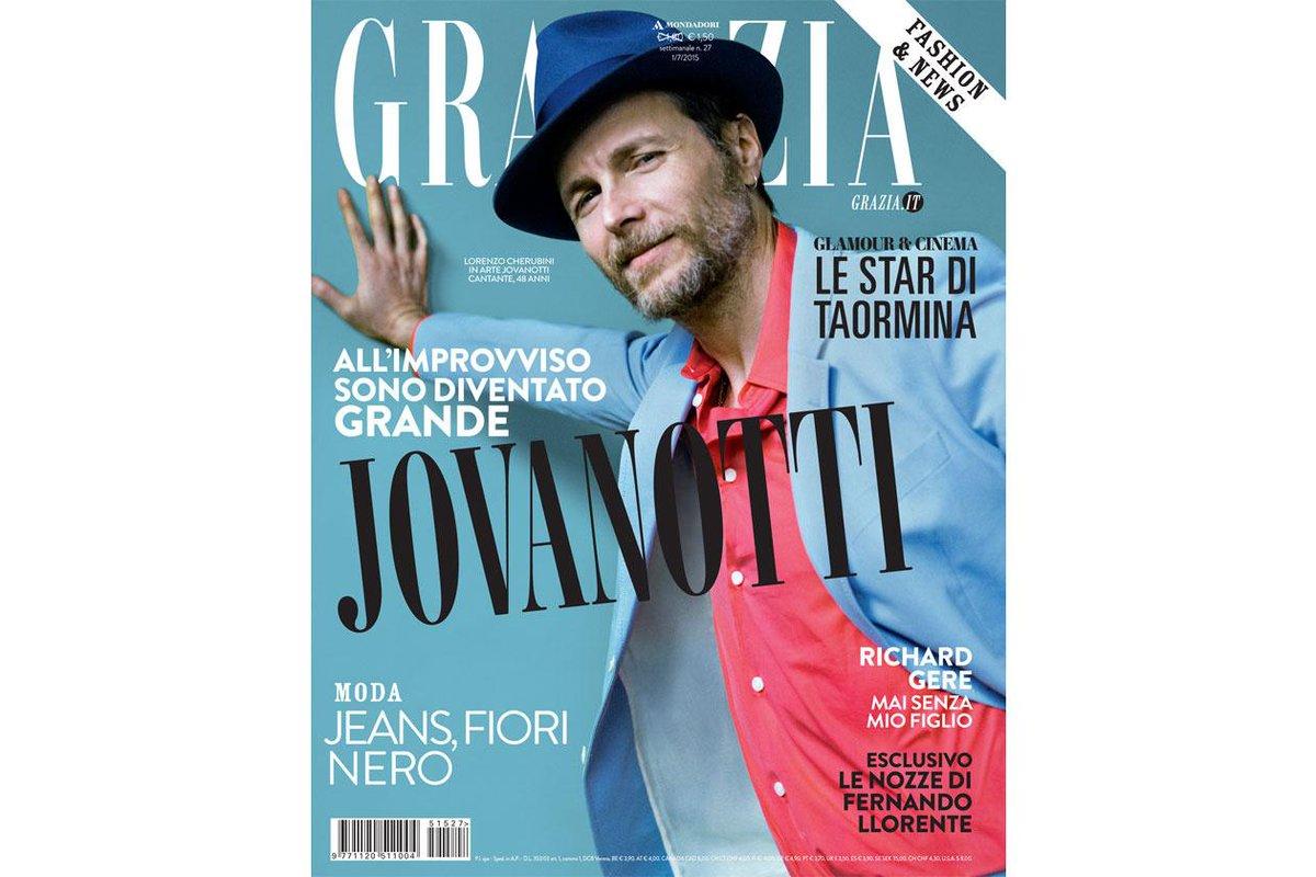 Il nuovo Grazia è in edicola: in copertina @lorenzojova http://t.co/VFSdt3OyHG #jovanotti #Grazia #graziamagazine http://t.co/uNkWxRWYCR