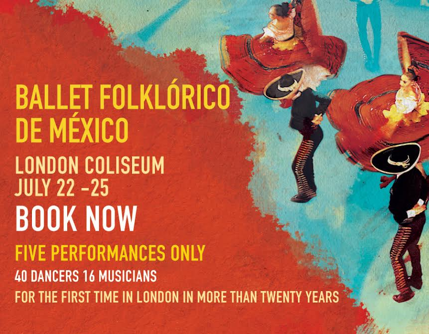 Want to see Ballet Folklorico de Mexico perform in London? Follow & retweet for a chance to win tickets! #competition http://t.co/JU0hRsXfwO