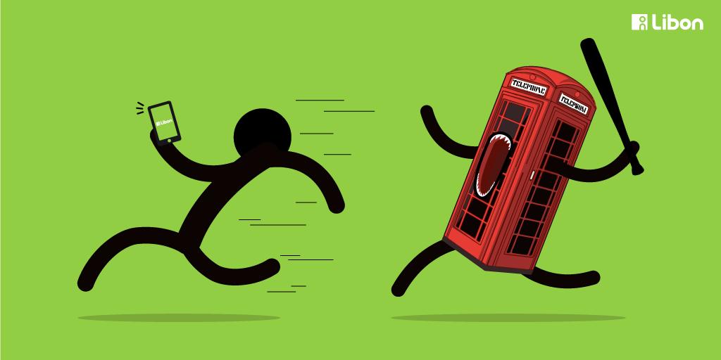 Un utilisateur Libon agressé par une cabine téléphonique #UberPop http://t.co/XYqFuds2O1