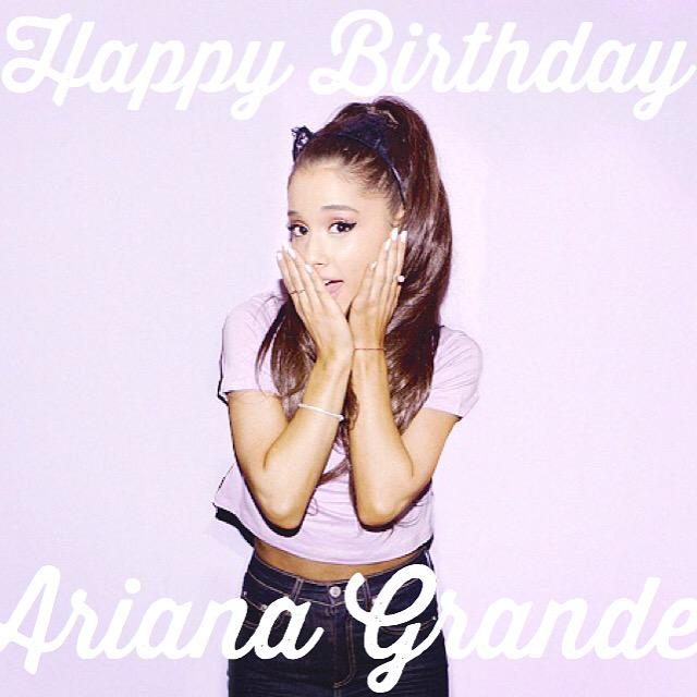 Happy Birthday, Ariana Grande!!! We can\t wait to see you here in Manila on August 23