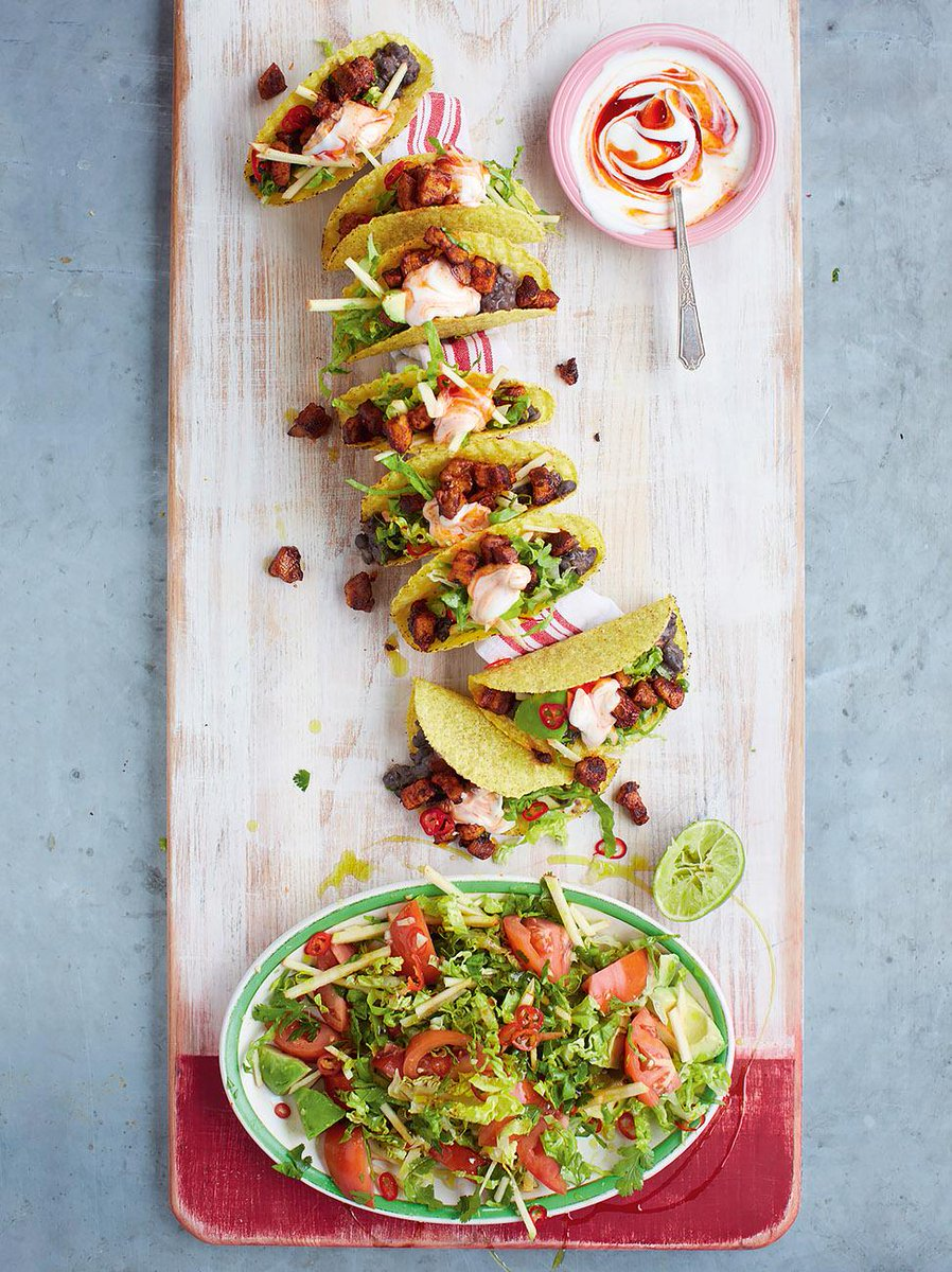 #Recipeoftheday Ultimate pork tacos with spicy black beans & avocado green salad http://t.co/KIEJQrNRch http://t.co/I7L7jfasRS