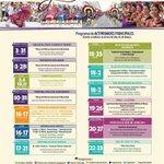Programa de actividades principales, #Guelaguetza2015. #Oaxaca,#México,#VíveloParaCreerlo,#AtréveteOaxaca,#Turismo http://t.co/WvovMJs5Dt