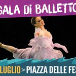 Gala di balletto | Lunedì 27 luglio 2015 - Piazza delle Feste > http://t.co/rh98Jjwn85 ???? #EstateSpettacolo15 #Genova http://t.co/4K0EXKn489
