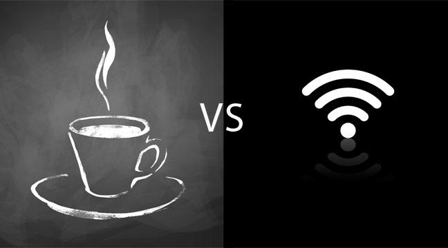 The most exciting game of would you rather is about to begin - 1 question. Would you rather give up coffee or #wifi? http://t.co/ACWjizuLG3