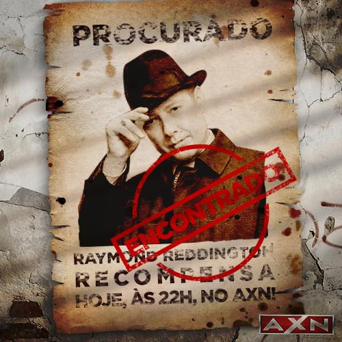 Hoje, às 22h, tem a estreia de #TheBlacklistAXN, desde a 1ª Temporada. ;) AXN, é um crime não ver. http://t.co/s7YIpEp32R