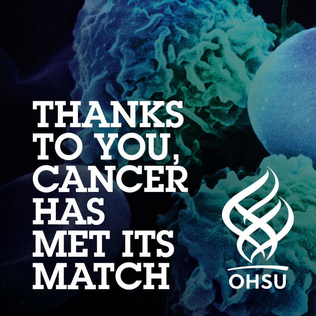 RT @portlandgeneral: $1 billion raised. Millions more to be saved. Congrats @OHSUNews! PGE is proud to support the cause! #onedown http://t.co/6XvK1mvbOI
