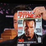 RT @TheArnoldFans: As seen on TV @muscle_fitness with @Schwarzenegger! Sorry, @jimmyfallon, it does not include cigar tips. @Terminator htt…