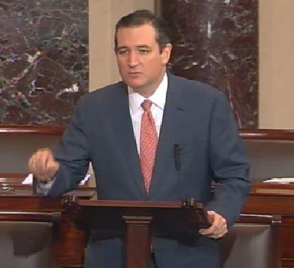 "On Senate floor, Sen Ted Cruz denounces majority in SCOTUS health ruling: ""They are lawless"" http://t.co/oXvPGznsXF"