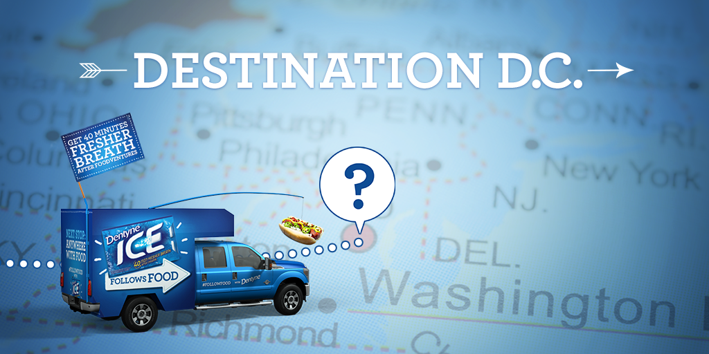 "Does DC stand for ""Delicious Cuisine,"" because we're on our way for some! #FollowFood http://t.co/YWB20JBWQq"
