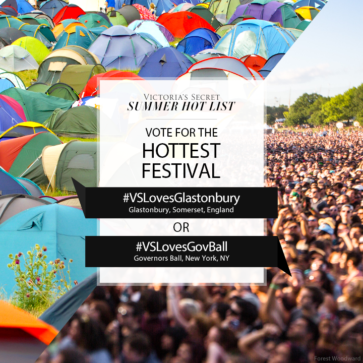 #VSLovesGlastonbury or #VSLovesGovBall? Tweet to VOTE for Hottest Festival on our #SummerHotList. http://t.co/OMU0Z1zTVq