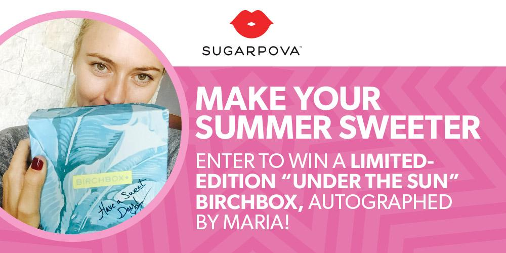 RT @Sugarpova: Tomorrow is your last day to enter our signed limited edition #sugarpova @Birchbox #giveaway! https://t.co/Bb4msiBkEm http:/…