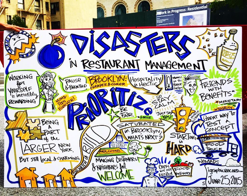 Disrupting the Brooklyn Restaurant scene... @eddie3dsong @PizzaLovesEmily @vinhillhouse at @makeitinbk #makeitinBK http://t.co/eEhOVRDU3M