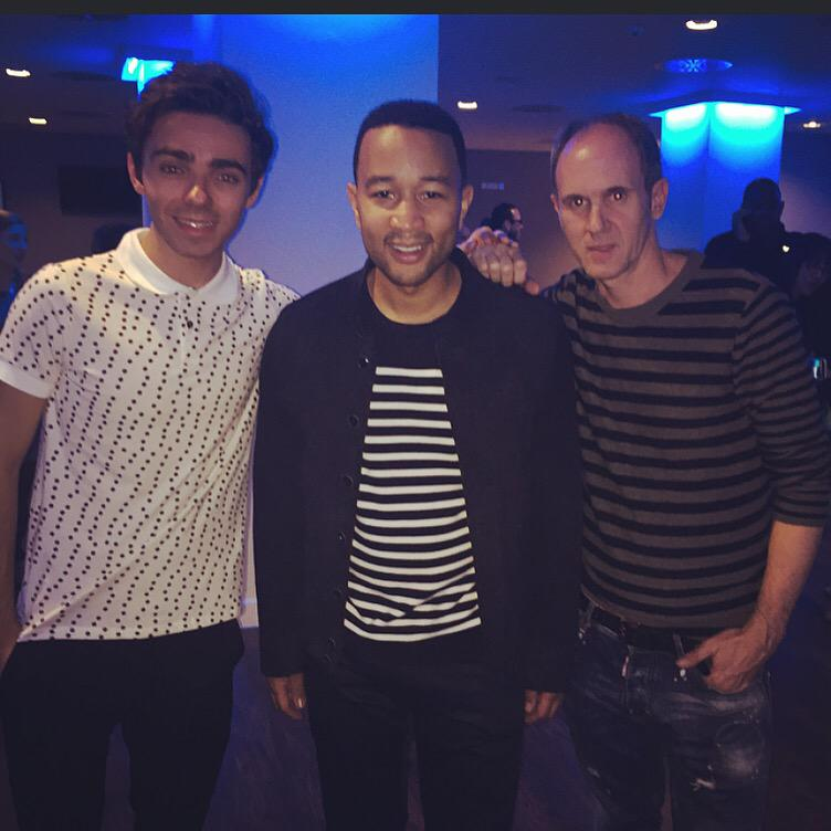 Fun night at the O2 for @johnlegend with @NathanSykes http://t.co/aVXQtdepUY