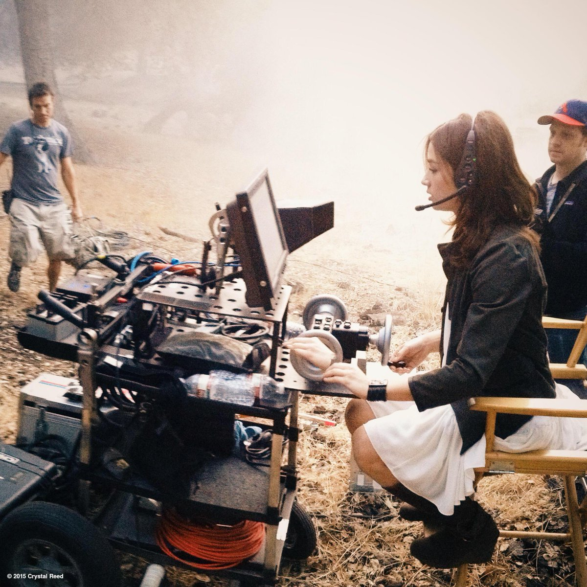 Much more comfortable behind the camera. I miss you guys! #tbt #TeenWolf http://t.co/4kVFCFCqmE