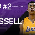 Los Angeles Lakers select DAngelo Russell with No. 2 overall pick. http://t.co/1Q5CU39q9E
