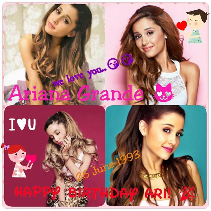 Happy Birthday Ariana Grande,,i love you