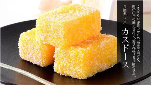 カステラに卵黄付けて揚げて砂糖まぶすって発想、バターに衣つけて揚げるのと近い。狂気菓子、カロリーの暴力 http://t.co/0P8IlraUrf