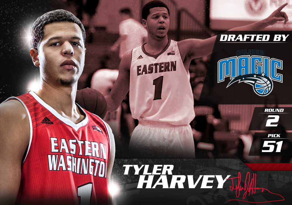 Congrats to @YoungTRaaw, who was selected by the @OrlandoMagic with the 51st pick in the #NBADraft! #GoEags http://t.co/CIxY79Aatw