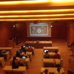 En curso de Música y Social Media de #sarasatelive en Baluarte. Análisis de la plataforma de comunicación Twitter. http://t.co/rzq6mBuPrx