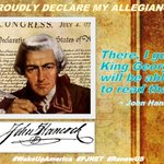 MT @jstines3: King, I PROUDLY DECLARE my INDEPENDENCE from you and your rogue regime! #FF1776 #COSProject #PJNET https://t.co/8C28ooiE4G