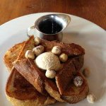 Feeling fancy today? We are. FANCY FRENCH TOAST. #Ballard #Brunch #Seattle http://t.co/AVjuODmNAO