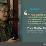 #Bangladesh PM SheikhHasina on special efforts for girls #education http://t.co/5WXgQElOMP