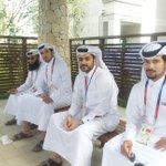 لاعبو فريق #جامعة_قطر وهم في طريقهم إلى حفل افتتاح بطولة جوانجو للجامعات ٢٠١٥ #أبطالنا_في_جوانجو #قطر http://t.co/ec4bTBpxxZ