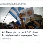 """""""@colvieux: Dite a @RaiNews che #Oxi vuol dire No, in greco #Greferendum http://t.co/QqFTS55UyK"""" #OXI #FREEGRECE"""