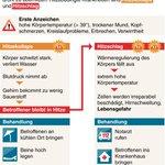 Leute, bitte beachten! RT @dpa Was tun bei Hitzekollaps oder Hitzschlag? Die @dpa_infografik zeigt es (ima) http://t.co/dA50FROgwF