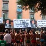 @CarlosLoret #primerotuimagen #PrimeroNoticias Llevan una semana bailando tratando d ablandar la indiferencia del gob http://t.co/y5bGQsTOxK