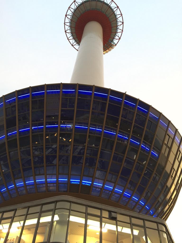 京都タワーホテルのビアガーデンに行ってきたでナス。涼しくて最高の気候だった。 http://t.co/ADaqsW8bWk