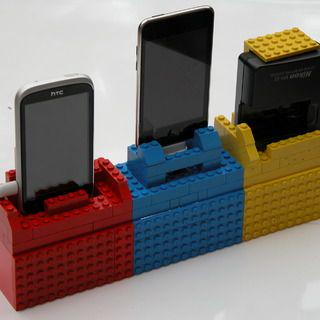 Build Your Own Phone Charging Station Out Of Lego