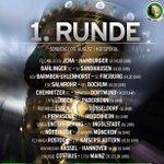 Der #BVB tritt in der 1.Runde des #DFBPokal-s am Sonntag, 9. August, um 14:30 Uhr beim #Chemnitz-er FC an. #CFCBVB http://t.co/tltIbo4JfM