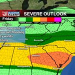 Updated severe weather outlook for today. #chattanooga #weather http://t.co/zbyO3LKWUo