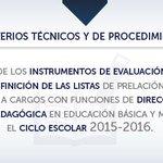 Instrumentos de evaluación, calificación y listas de prelación para la promoción docente http://t.co/XsOB9uatP6 http://t.co/2nBj5TNjwS