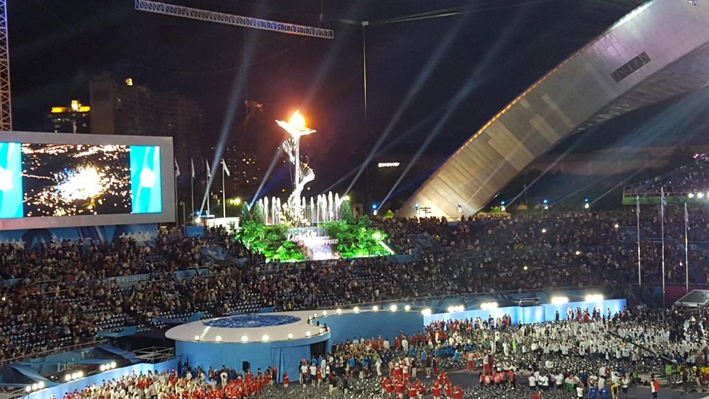 The Universiade has begun #SUGwangju2015 #FISUYRP http://t.co/pNyX57W1YK
