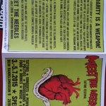 """""""Meet the needles"""" eine linke Tattoo-Convention von heute bis Sonntag. http://t.co/ARj1h4OTwu"""