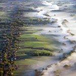 Туман, застилающий поля. Украина http://t.co/sA0fDUAvnM