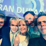 My selfie with the amazing @duranduran Yes I was a #Durany. #O2SilverClef40 http://t.co/3SD9tFIrKP