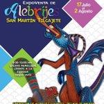 ExpoVenta de Alebrijes, del 17 de julio al 2 de agosto, San Martín Tilcajete,#Oaxaca. #Guelaguetza2015,#México http://t.co/uwIOE7CAkI