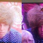 The Internet is going wild for this Wimbledon spectators epic hairdo http://t.co/hxkcF7gs2C http://t.co/GevUgG4zp4